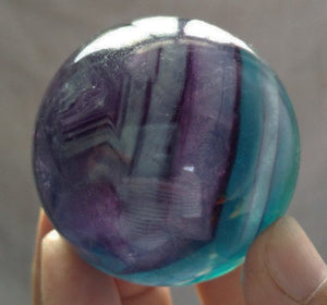 Fluorite Sphere 45mm wide