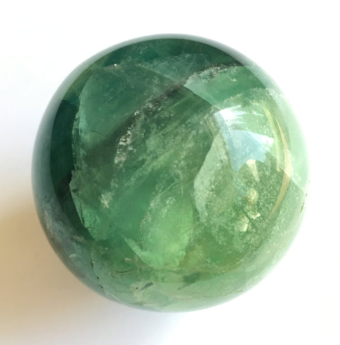 Green Fluorite Sphere 50mm / 2 inch diameter