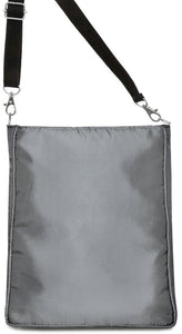 The Knight and the Lady Shoulder Bag - Silver Version