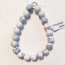 Load image into Gallery viewer, Howlite beads 10.5mm round beads
