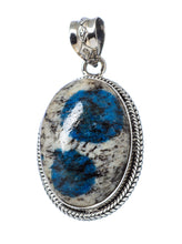 Load image into Gallery viewer, K2 Pendant Azurite in Granite