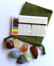 Load image into Gallery viewer, Chakra Healing Stones