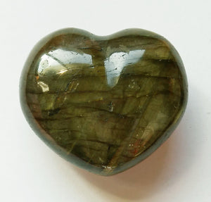 Labradorite Mini Heart