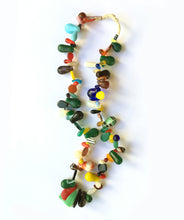 Load image into Gallery viewer, African Wedding Beads Necklace of Antique Czech Glass Beads