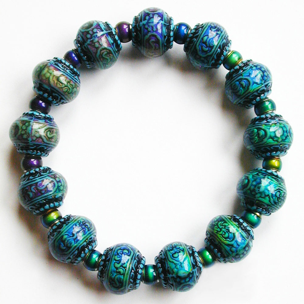 Mirage Color-Changing Mirage Beaded Bracelet