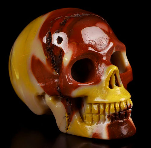 Mookaite Skull - Super beautiful