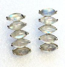 Load image into Gallery viewer, Rainbow Moonstone Earrings Stud Earrings