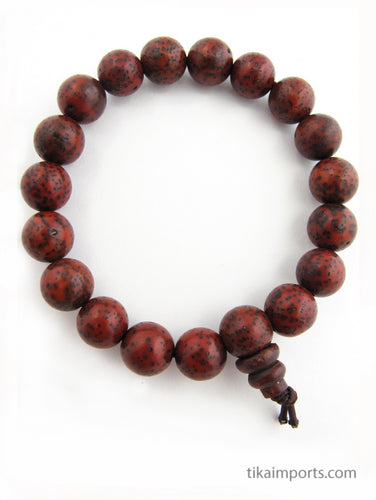 Reddish Brown Lotus Seed Bracelet for an easier path of evolution.