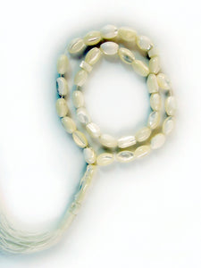 Mother-of-Pearl Necklace Tespeh strand of 33 beads  -  Islamic Prayer Beads