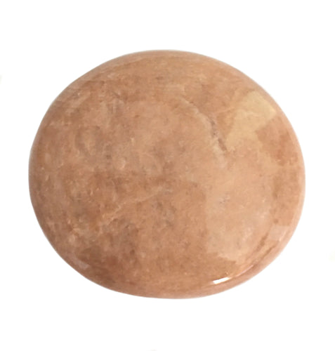 Peach Moonstone Palm Stone 2.22 inches