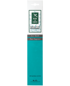 Herb and Earth Bamboo Natural Incense with Less Smoke