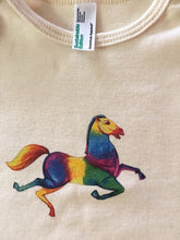 Load image into Gallery viewer, Horse American Apparel Organic Cotton Jersey Onesie 6-12 Months Old