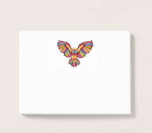 Psychedelic Owl Post-it® Notes
