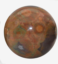 Load image into Gallery viewer, Rhyolite Bead 18 mm Round Bead