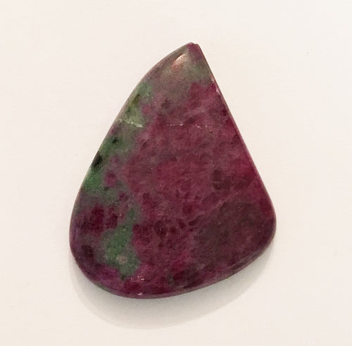 Ruby Zoisite Cabochon Free-form