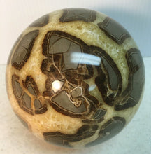 Load image into Gallery viewer, Septarian Nodule aka Dragon Stone Sphere 4.62 inches big