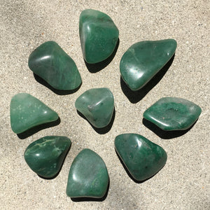 Verdite aka South African Buddstone Natural Tumbled Stones