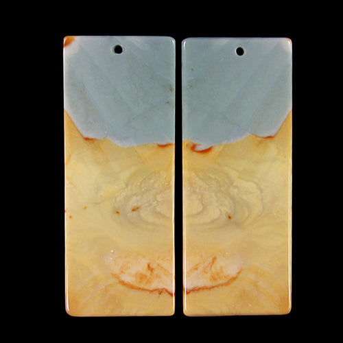Succor Creek Jasper Pair of Earring Beads or Matching Pendants