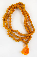 Load image into Gallery viewer, Turmeric Haldi 108 Prayer Beads Necklace