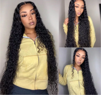 FashionVela Hot Sale Item Water Wave Bundles Brazilian Hair Weave Bundles Deep Curly Water Wave 30 inch - Exclusive Fashions