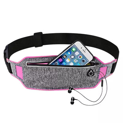 Mobile Phone Pouch Bag Case Waterproof Fanny Bag Unisex Waist Pack Pockets Adjustable Belt Sports Running Phone Bag - Exclusive Fashions