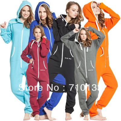 one piece jumpsuit onesies onezie all-in-one unisex unique zip hoody jump in suit kosedress - Exclusive Inspirational Designs