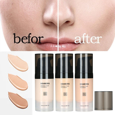 Foundation Base Makeup Professional Face Matte Finish Liquid Make Up Concealer Cream Waterproof Brand Natural Cosmetic - Exclusive Fashions
