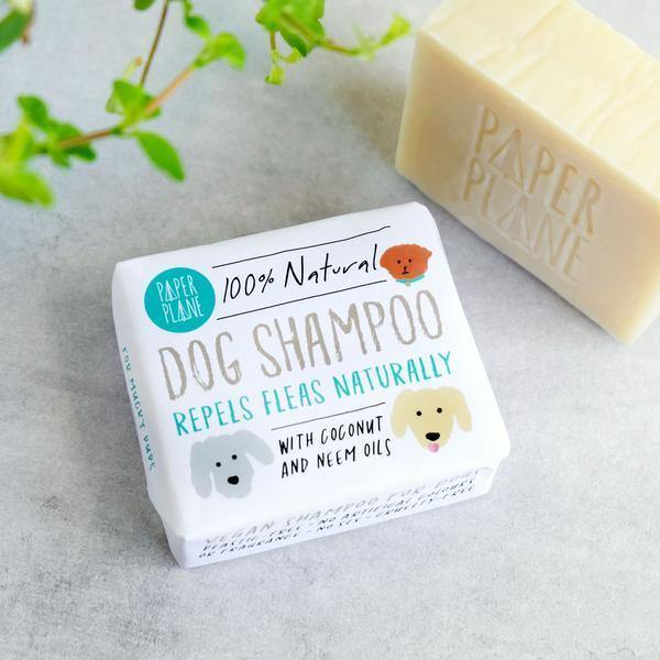 Plastic free Dog Shampoo 100% Natural Vegan - Dog Shampoo 100% Natural Vegan - Shop NO Plastic