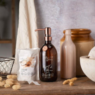 Plastic free Dreamy Vanilla & Caramel, Shower Creme GIFT PACK - Dreamy Vanilla & Caramel, Shower Creme GIFT PACK - Shop NO Plastic