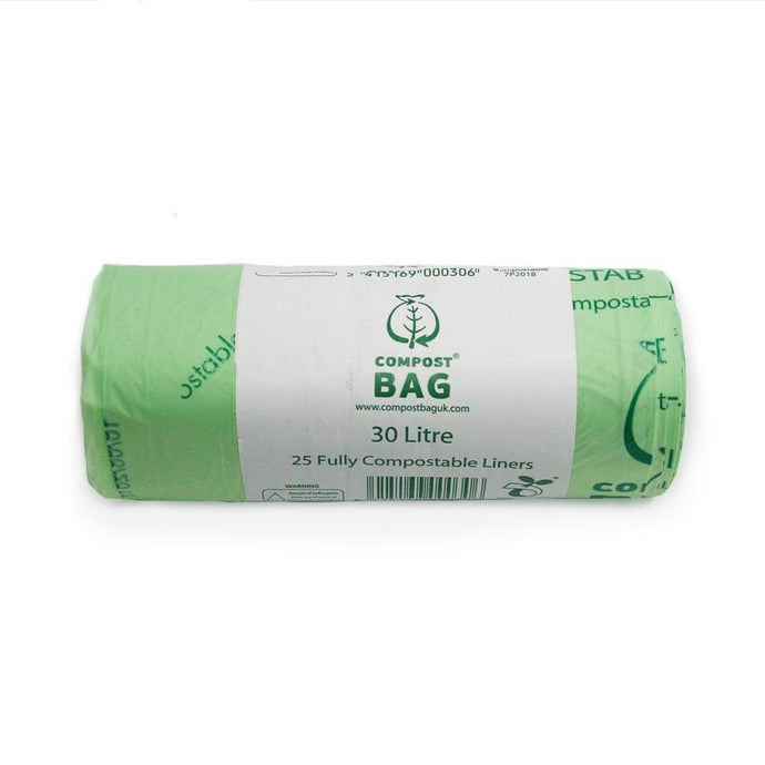 Compostable Biodegradable Bags 30 Litres - Compostable Biodegradable Bags 30 Litres - Shop NO Plastic