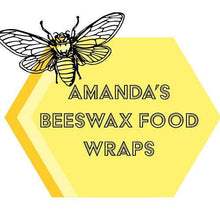 Load image into Gallery viewer, Homemade Beeswax Large Loaf Wrap - Homemade Beeswax Large Loaf Wrap - Shop NO Plastic