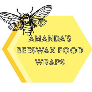 Homemade Beeswax Large Loaf Wrap - Homemade Beeswax Large Loaf Wrap - Shop NO Plastic