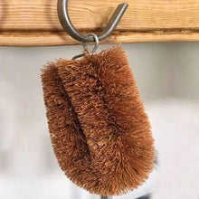 Load image into Gallery viewer, Plastic free Mini Scrub Washing Up Brush - Mini Scrub Washing Up Brush - Shop NO Plastic