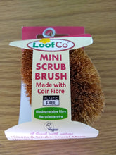 Load image into Gallery viewer, Mini Scrub Washing Up Brush - Mini Scrub Washing Up Brush - Shop NO Plastic