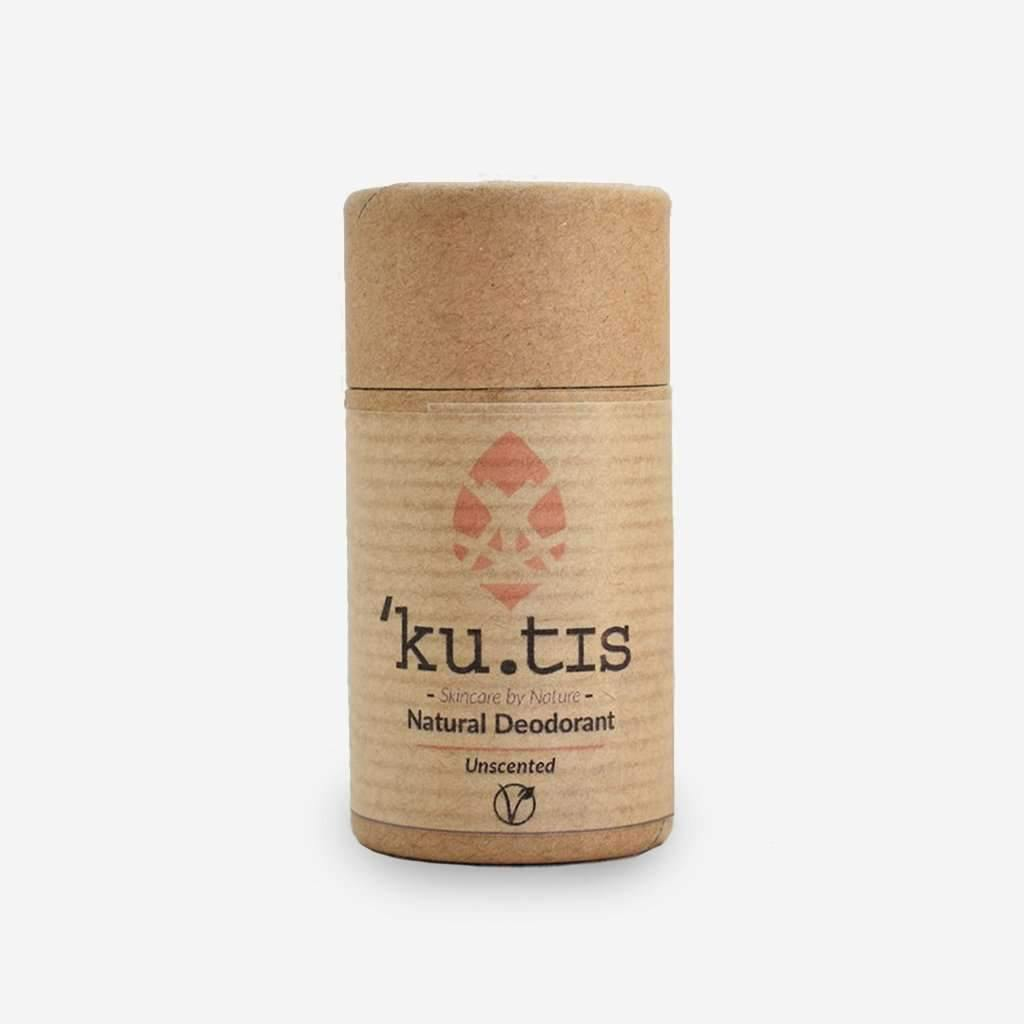 Ku.tis Natural Deodorant - Unscented