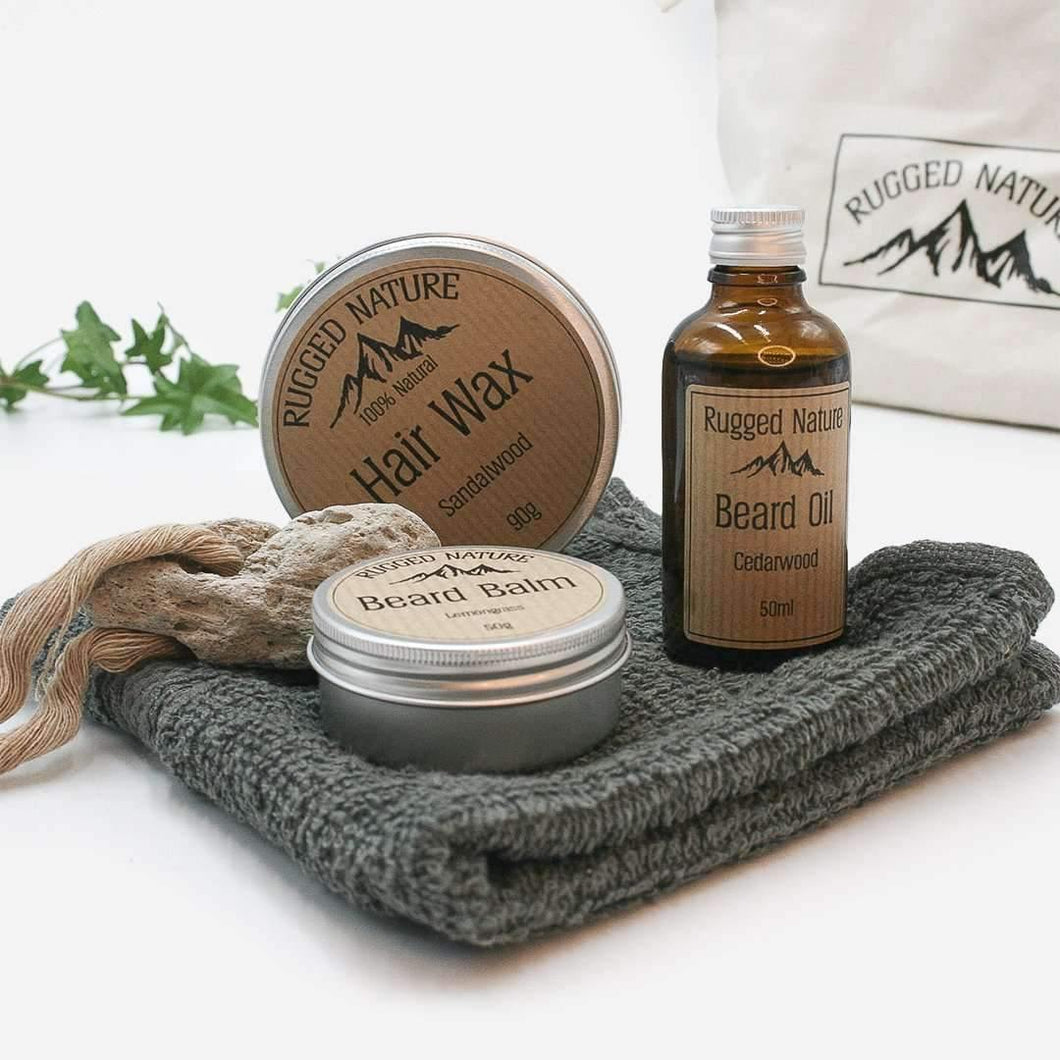 Plastic free The Natural Man Wash Kit - The Natural Man Wash Kit - Shop NO Plastic