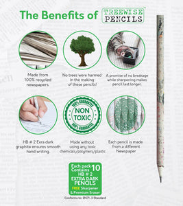 HB Pencils - HB Pencils - Shop NO Plastic