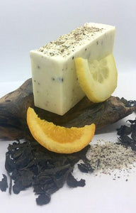 Plastic free Seaweed, Seasalt, Orange & Lemon Cold Process Soap - Seaweed, Seasalt, Orange & Lemon Cold Process Soap - Shop NO Plastic