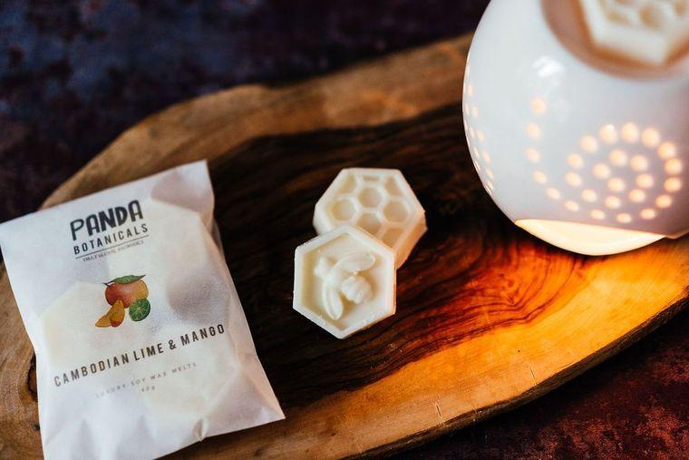 Plastic free Soy Wax Melts: Cambodian Mango & Lime - Soy Wax Melts: Cambodian Mango & Lime - Shop NO Plastic