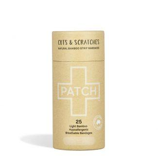Patch biodegradable bamboo plasters (Natural) - Shop NO Plastic