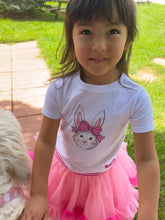 Load image into Gallery viewer, Pink Bow Bunny Tee