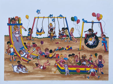 A Day at the Playground - limited edition print