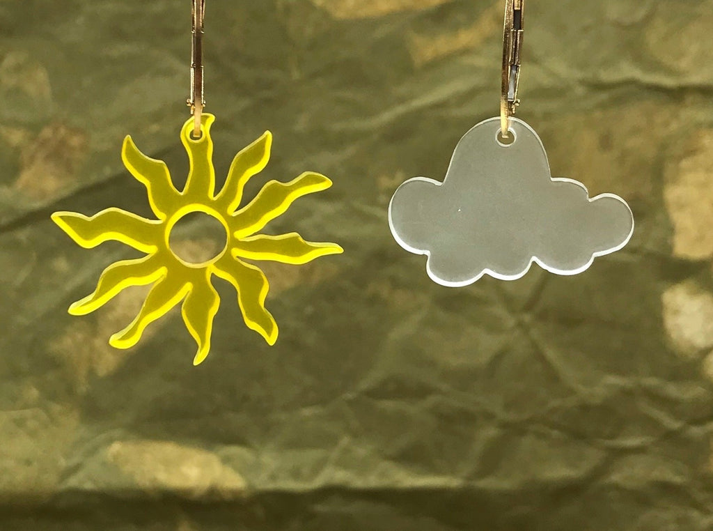 Sun and Cloud/Moon