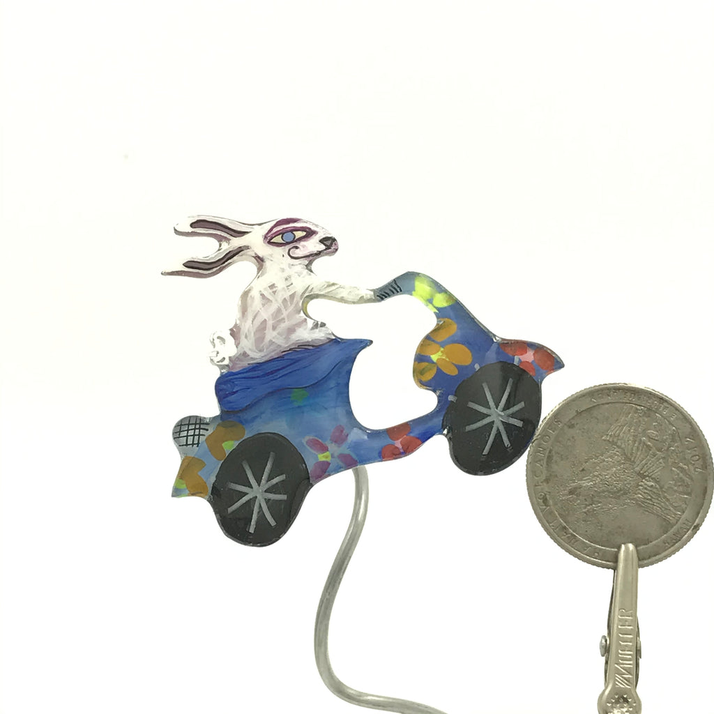 Rabbit on a Vespa