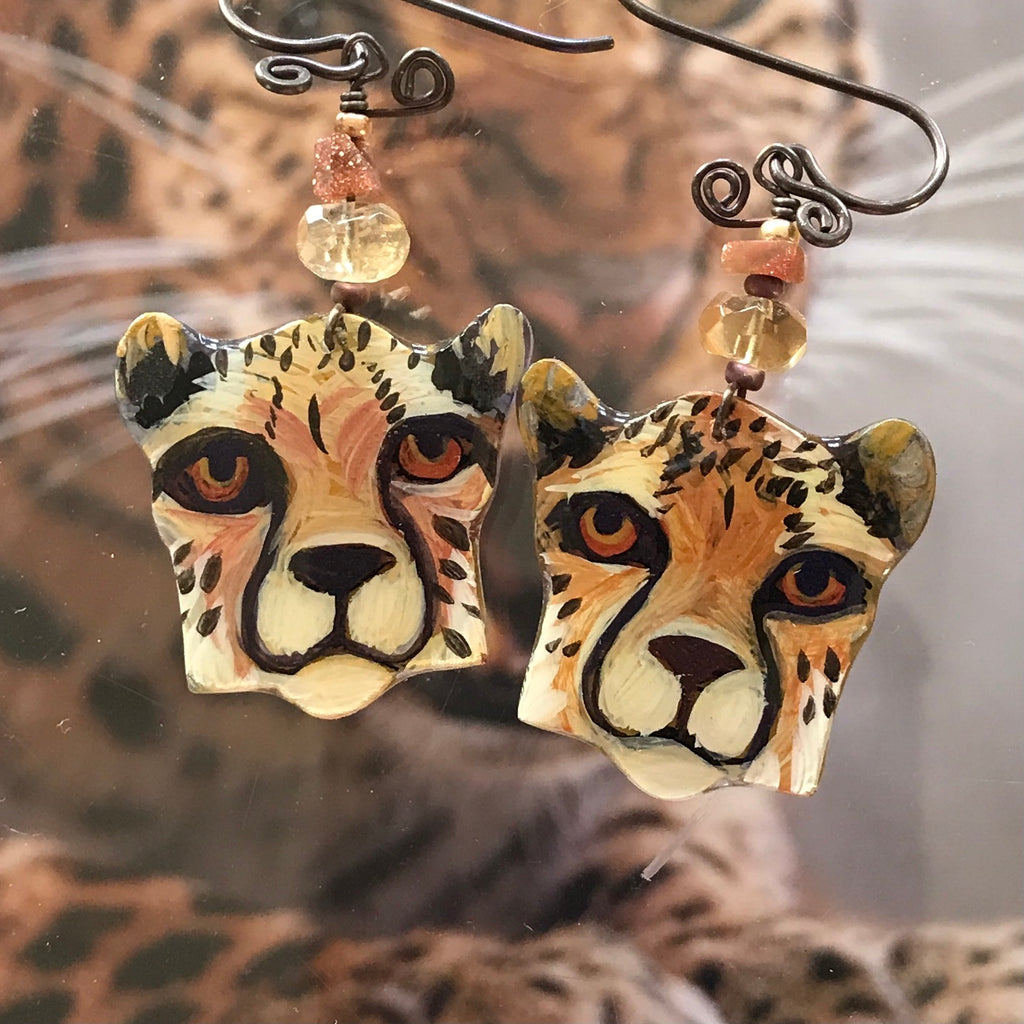 Jungle earrings