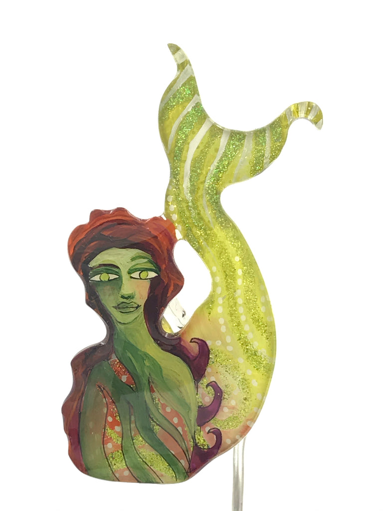 Mermaid with Tail Up