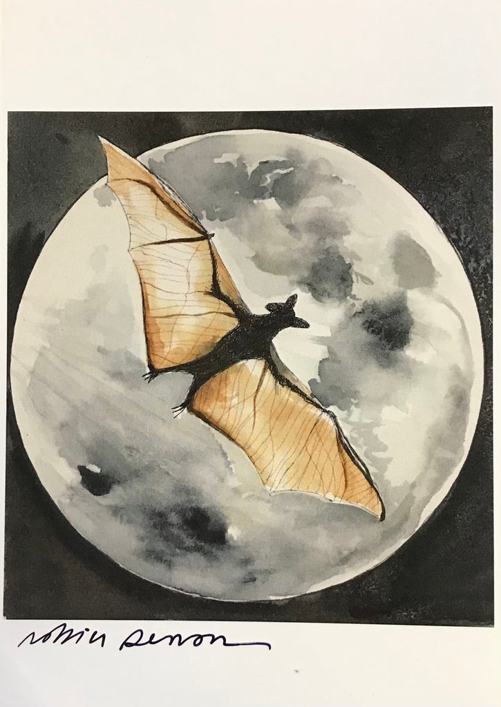 Bat and the Full Moon