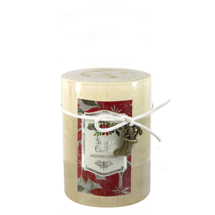 SUGAR COOKIE SCENTED CANDLE 3X4