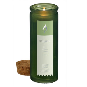 SERENITY SCENT TINCTURE BOTTLE CANDLE