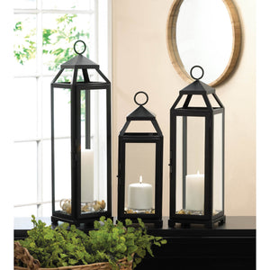 EXTRA LARGE LEAN & SLEEK CANDLE LANTERN